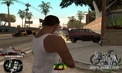 C-HUD Rasta for GTA San Andreas third screenshot