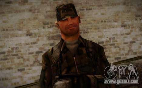 Soldier Skin 4 for GTA San Andreas third screenshot