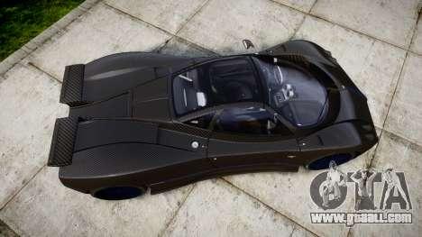 Pagani Zonda C12 S 7.3 2002 PJ4 for GTA 4 right view