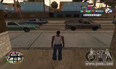 C-HUD Color for GTA San Andreas