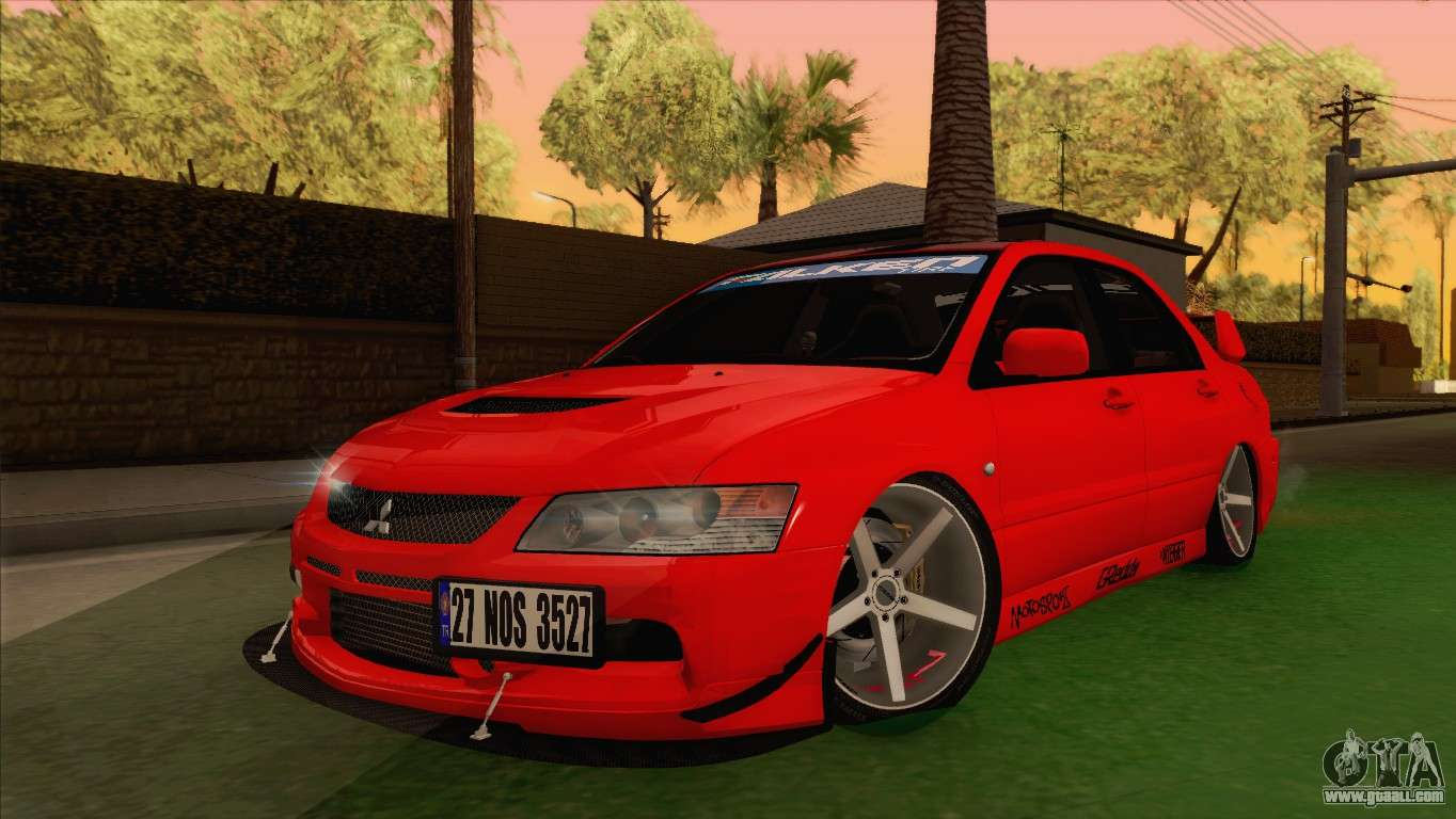 mitsubishi lancer evolution viii mr for gta san andreas. Black Bedroom Furniture Sets. Home Design Ideas