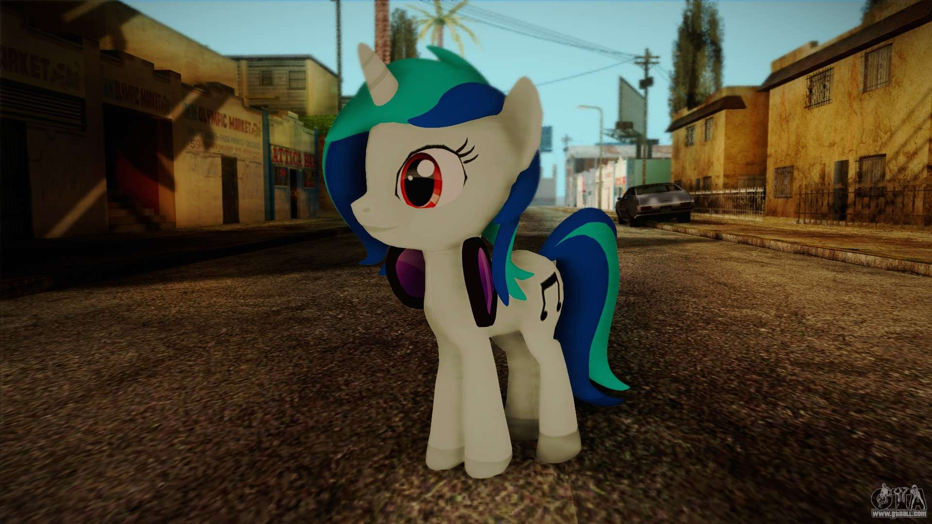 Vinyl Scratch From My Little Pony For Gta San Andreas