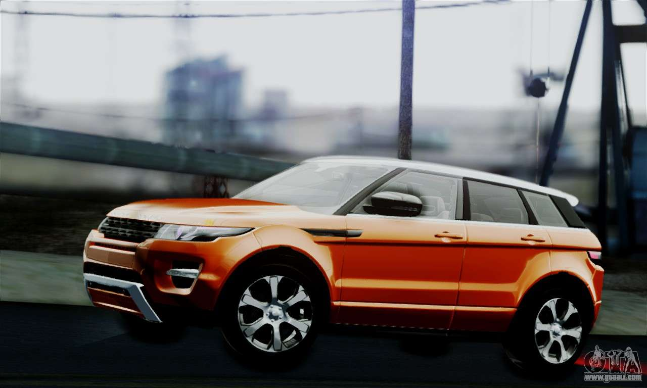 Range Rover Evoque >> Range Rover Evoque 2014 for GTA San Andreas