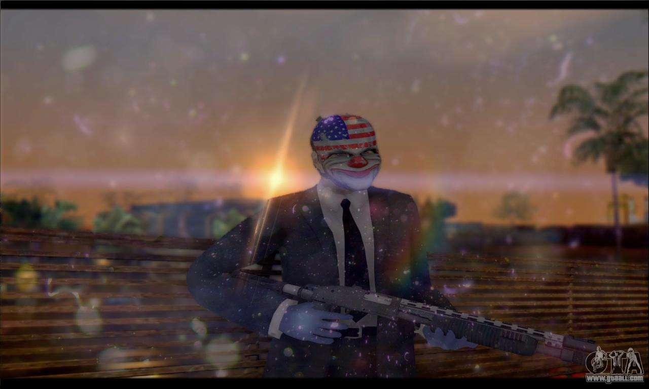 Corsar PayDay 2 ENB for GTA San Andreas