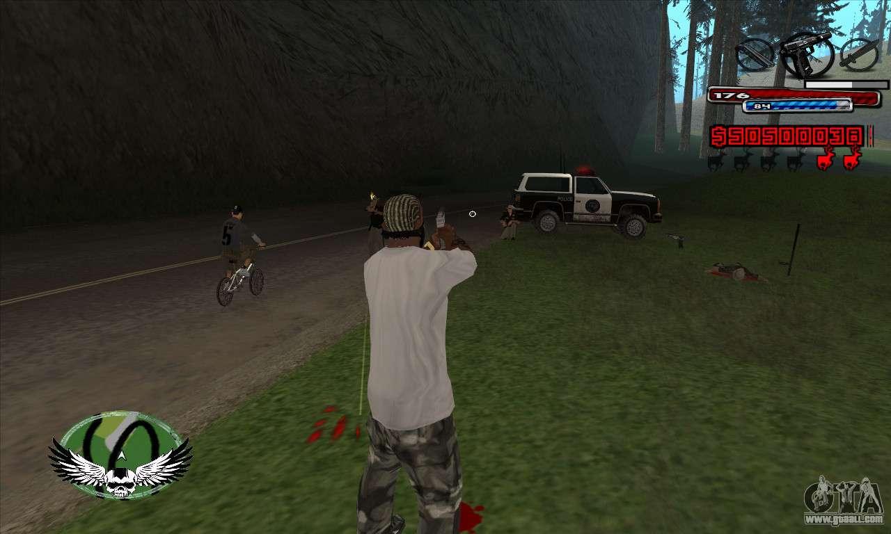 C Hud By Kir4ik For Gta San Andreas