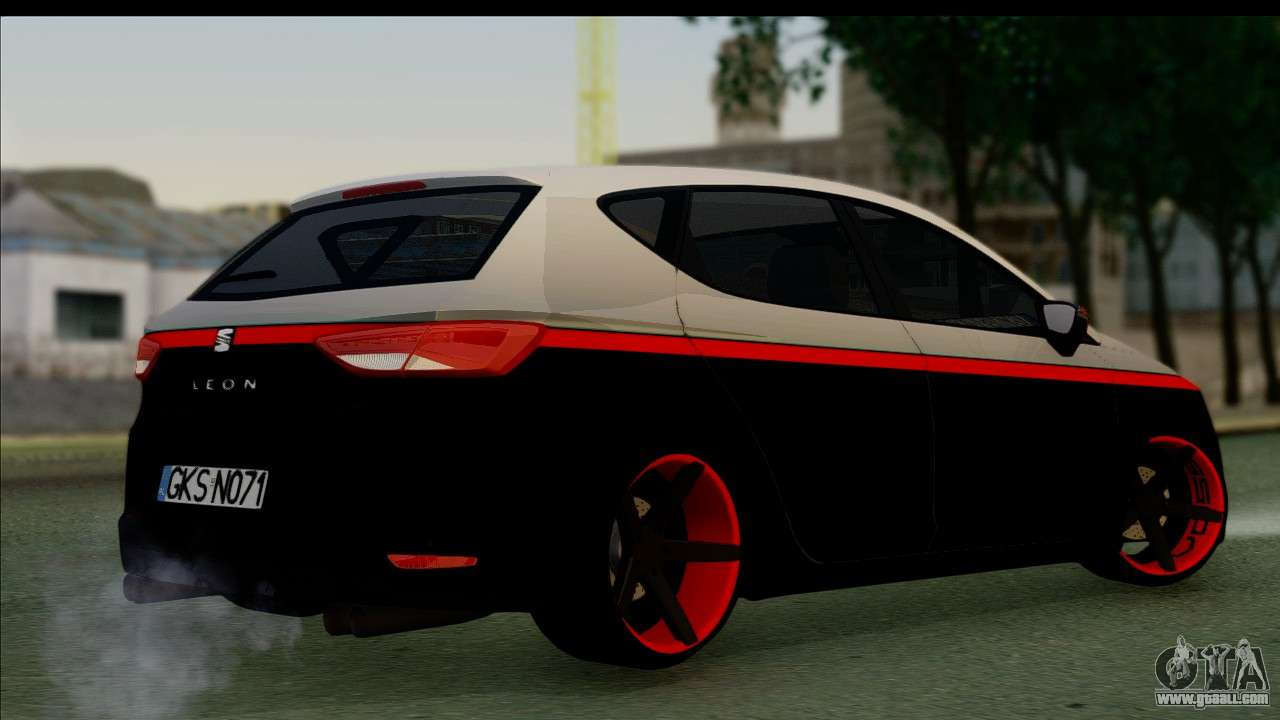 seat leon hellandreas 2013 for gta san andreas. Black Bedroom Furniture Sets. Home Design Ideas