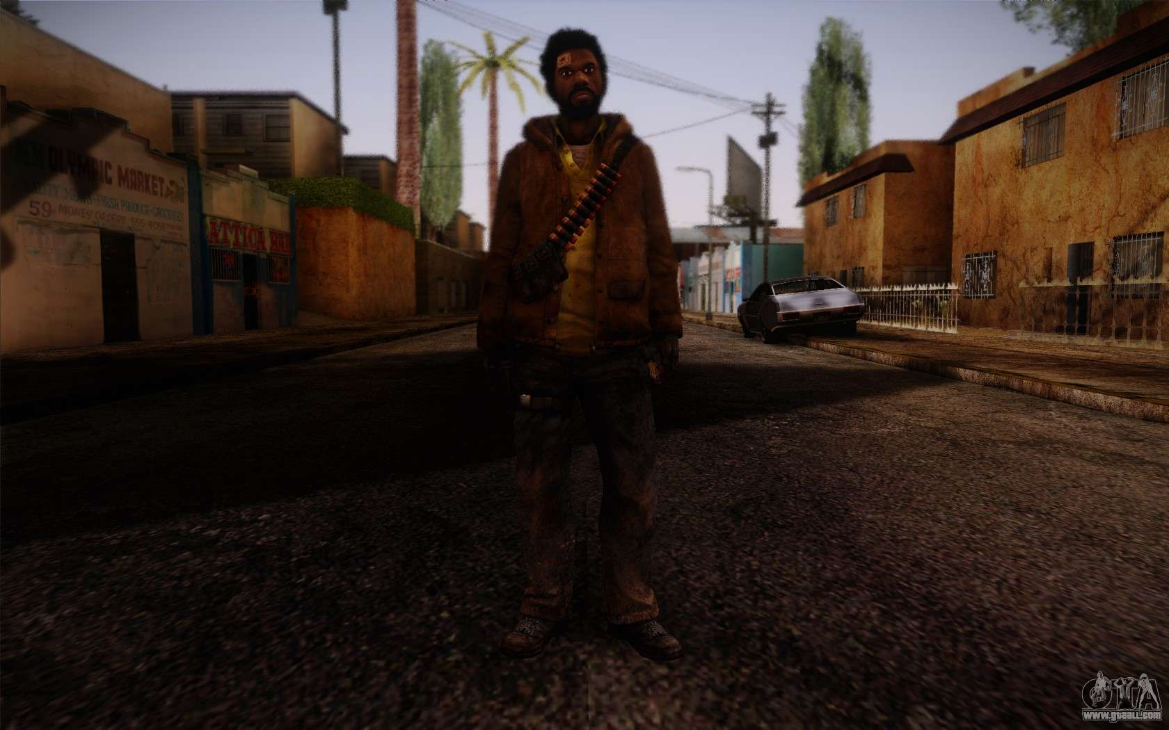 Zoey from Left 4 Dead Beta para GTA San Andreas