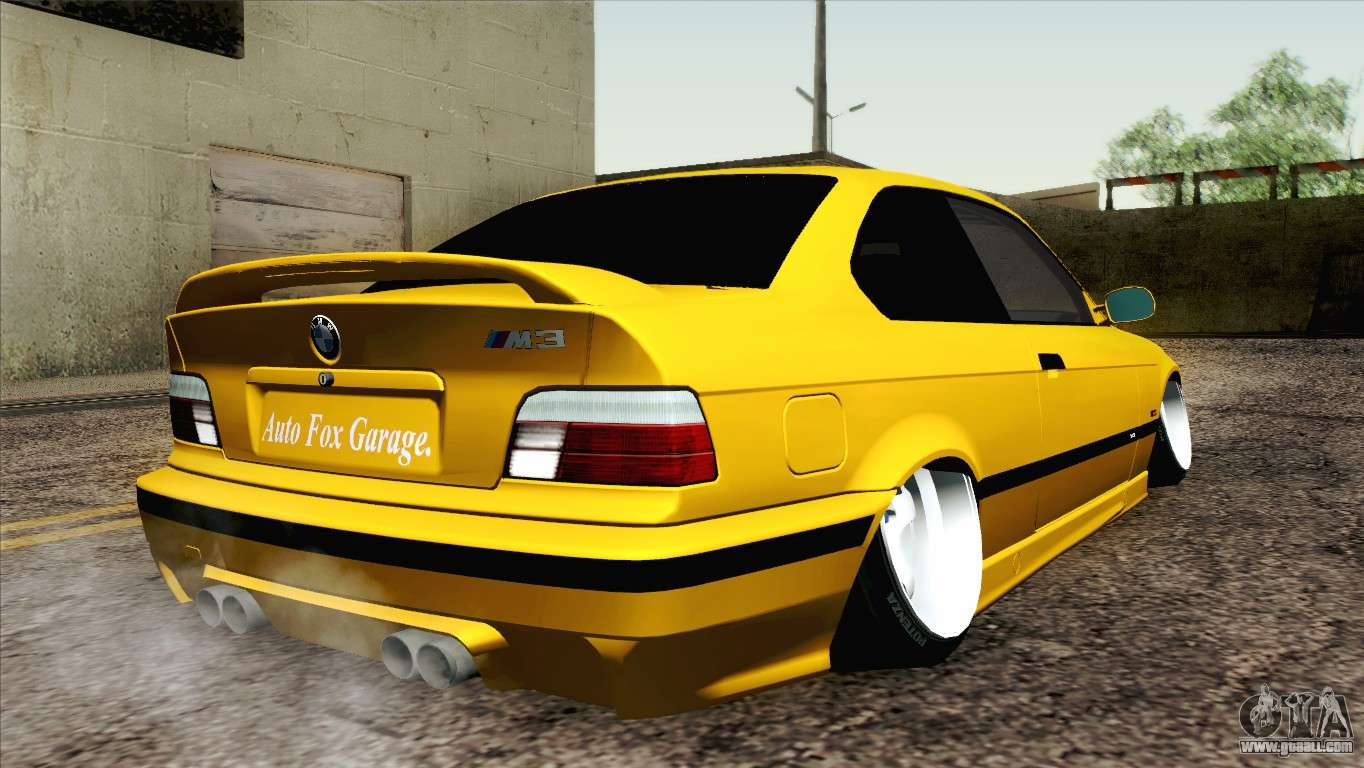 bmw m3 e36 camber style for gta san andreas. Black Bedroom Furniture Sets. Home Design Ideas