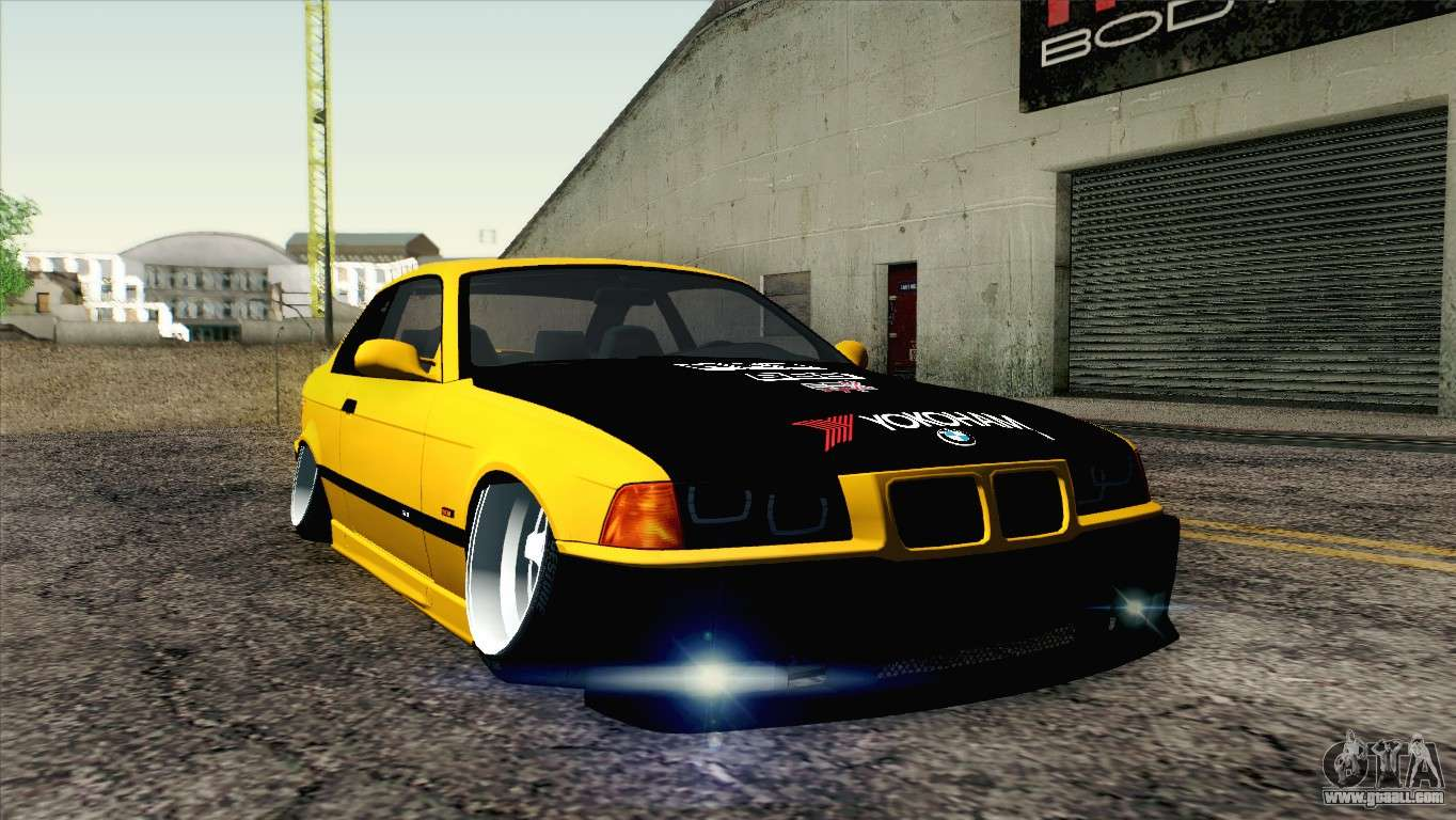 Bmw M3 E36 Camber Style For Gta San Andreas