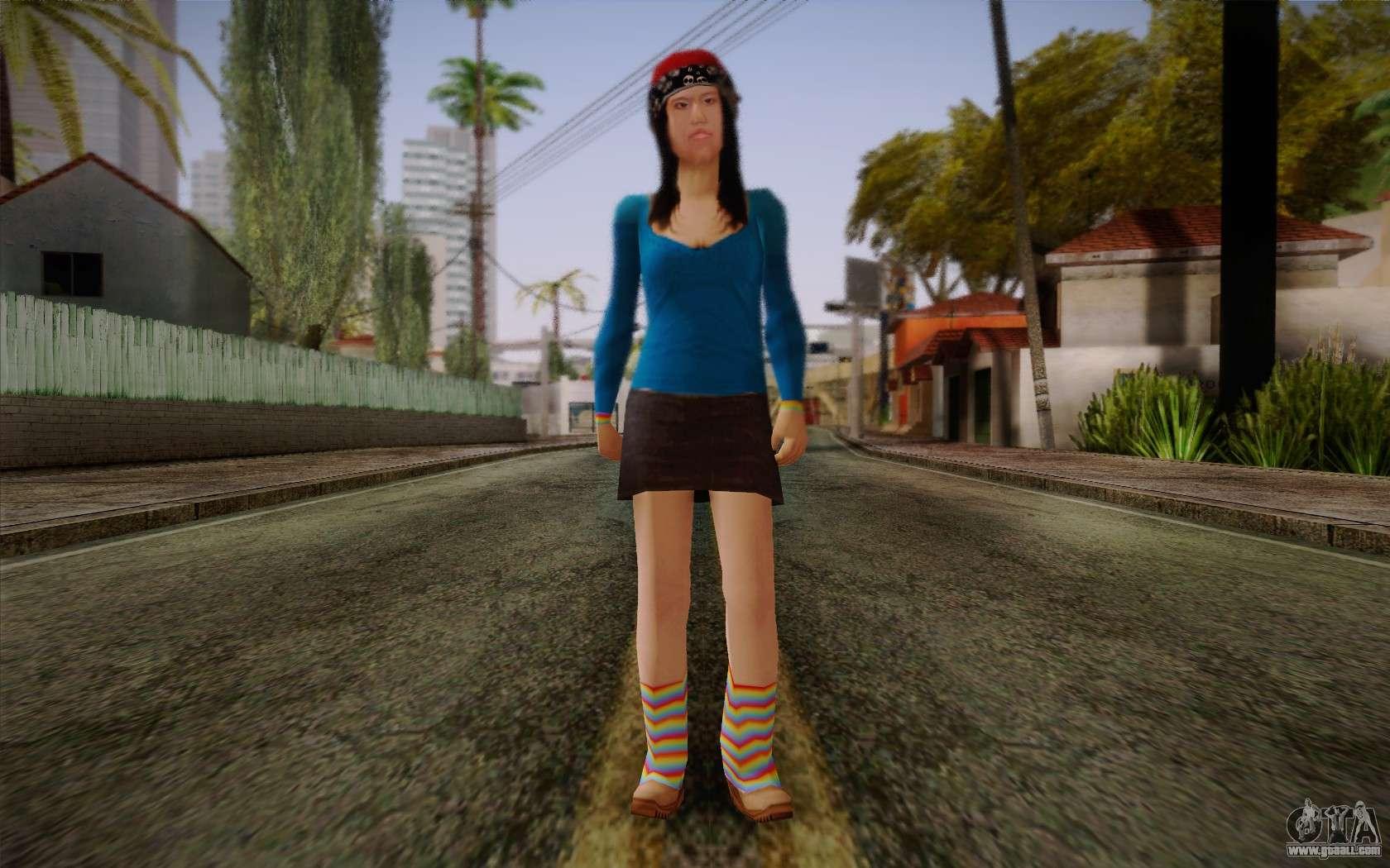 Ginos Ped 5 for GTA San Andreas