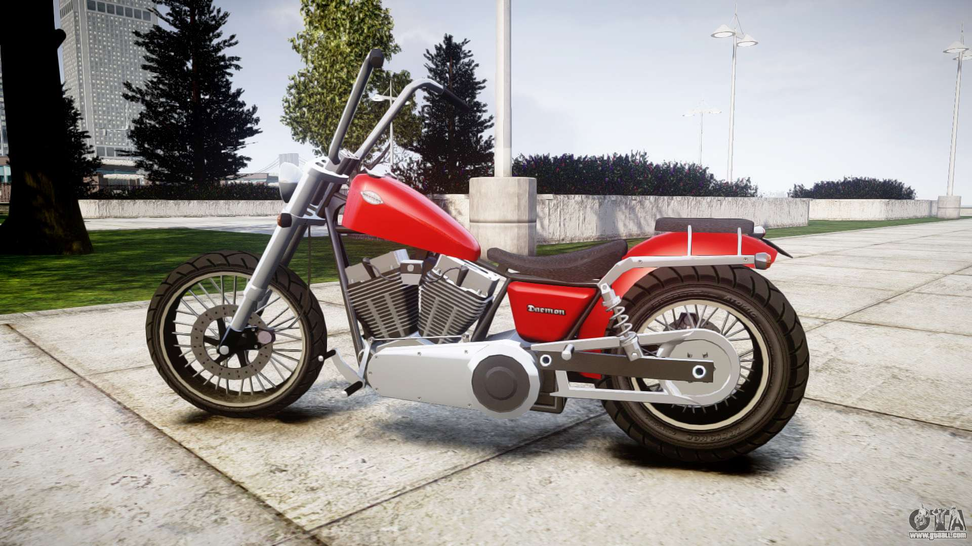 Western Motorcycle Company Daemon for GTA 4 Gta V Western Daemon