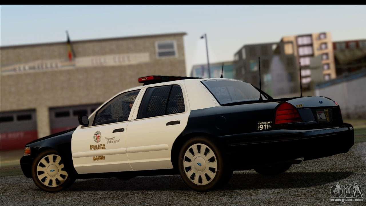 lapd ford crown victoria whelen lightbar for gta san andreas. Black Bedroom Furniture Sets. Home Design Ideas