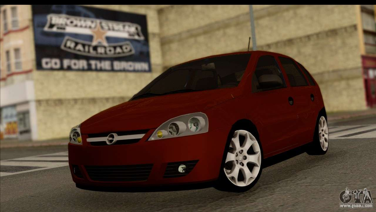 opel corsa c sport for gta san andreas. Black Bedroom Furniture Sets. Home Design Ideas