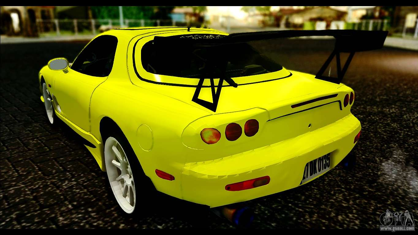 Mazda Rx 7 Drift For Gta San Andreas