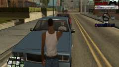 C-HUD Cesar Weezy for GTA San Andreas
