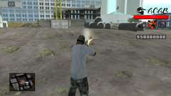 C-HUD A.C.A.B for GTA San Andreas