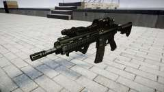 Rifle HK416 CQB target