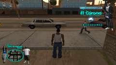 C-HUD Aztec El Corona for GTA San Andreas