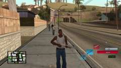C-HUD by SampHack v.19 for GTA San Andreas