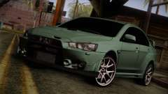 Mitsubishi Lancer Evolution FQ-400 for GTA San Andreas
