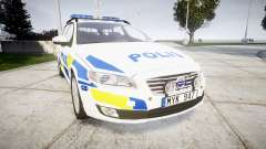 Volvo V70 2014 Swedish Police [ELS] Marked