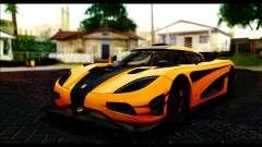 Koenigsegg One:1 v2 for GTA San Andreas