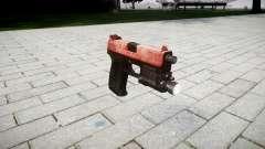 Gun HK USP 45 red