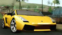 Lamborghini Gallardo 2005 for GTA San Andreas