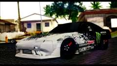 Nissan 180SX Monster Energy for GTA San Andreas