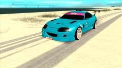 Toyota Supra Blue Lightning for GTA San Andreas