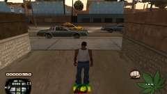 C-HUD Rasta for GTA San Andreas