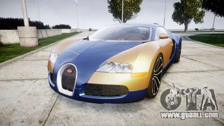 Bugatti Veyron 16.4 v2.0 for GTA 4