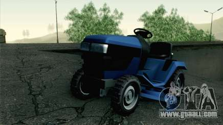 GTA V Mower for GTA San Andreas