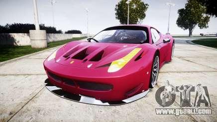 Ferrari 458 GT2 for GTA 4