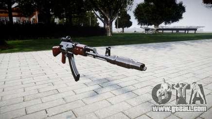 The AK-47 Collimator and Muzzle brake for GTA 4
