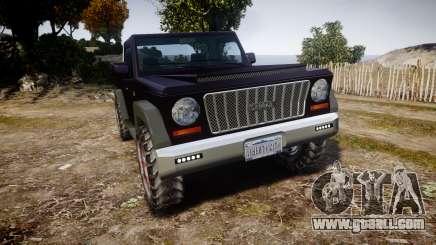 Senran Pioneer Pickup for GTA 4