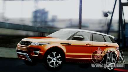 Range Rover Evoque 2014 for GTA San Andreas