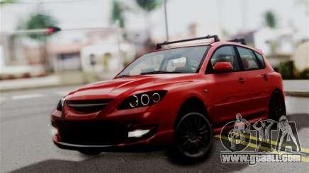 Mazda 3 MPS for GTA San Andreas