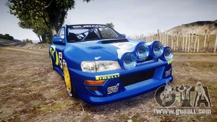 Subaru Impreza WRC 1998 v4.0 World Rally for GTA 4