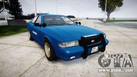 GTA V Vapid Police Cruiser Gendarmerie2 for GTA 4