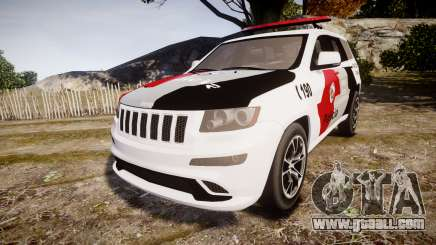 Jeep Grand Cherokee SRT8 Forca Tatica [ELS] for GTA 4