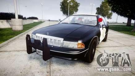Chevrolet Caprice 1991 Highway Patrol [ELS] Slic for GTA 4