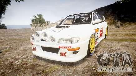 Subaru Impreza WRC 1998 v4.0 SA Competio for GTA 4