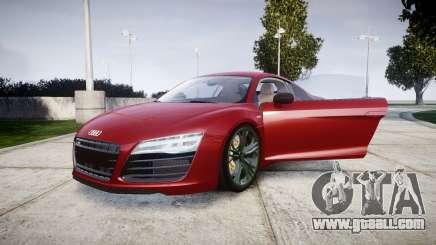 Audi R8 V10 Plus 2014 for GTA 4