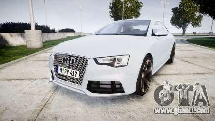 Audi RS5 2012 v2.0 for GTA 4