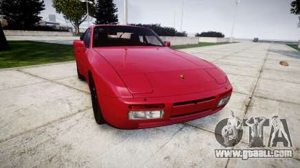 Porsche 944 Turbo 1989 for GTA 4