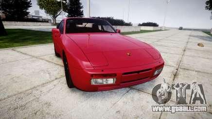 Porsche 944 Turbo 1989 for GTA 4