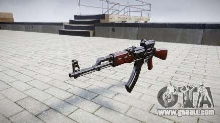 The AK-47 Collimator target for GTA 4