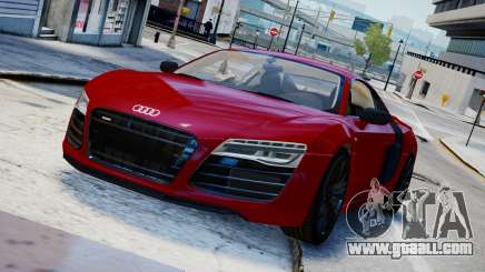 Audi R8 V10 Plus 2014 v1.0 for GTA 4