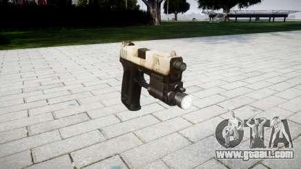 Gun HK USP 45 nevada for GTA 4